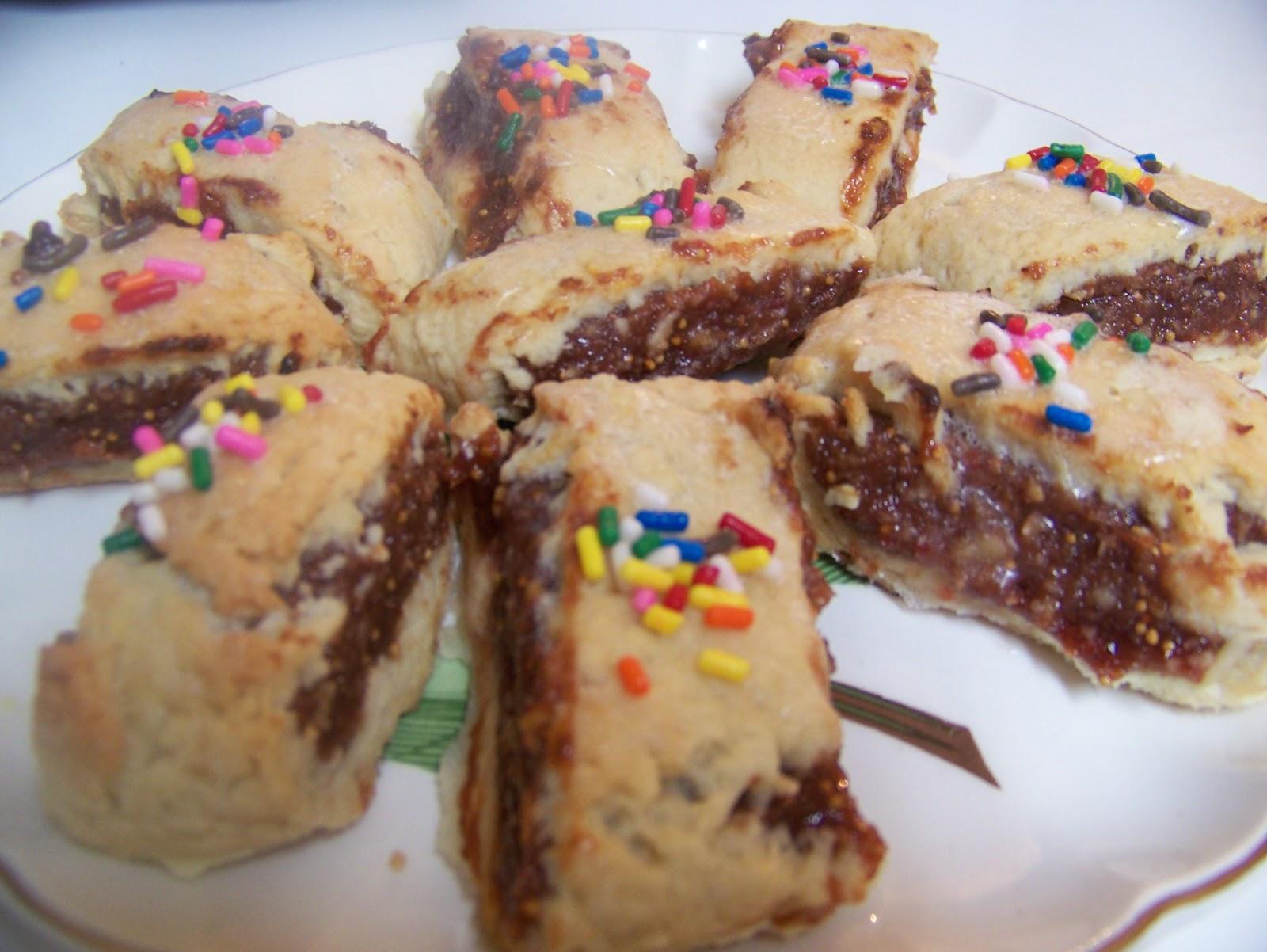 Christmas Nonna Angela S Fig Cookies Amy Riolo S Blog