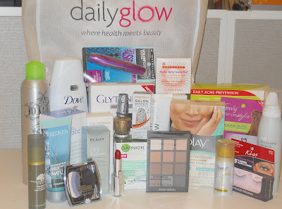 Reader Giveaway! DailyGlow Beauty Award Winners Gift Bag worth over $900