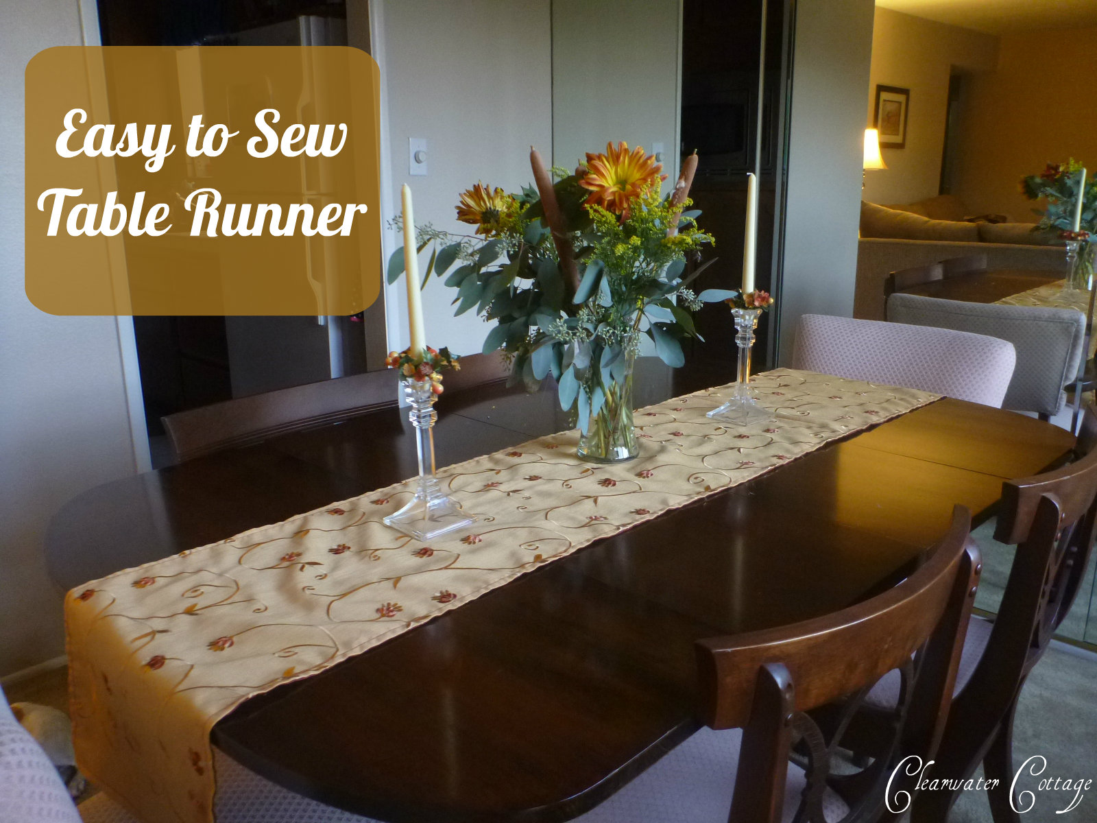 Good Easy To Sew Table Runner