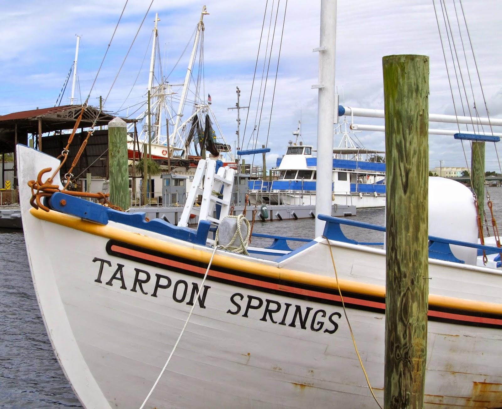 Tarpon springs and the world famous sponge docks expect for Tarpon springs fishing