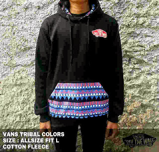 Jaket Vans Tribal
