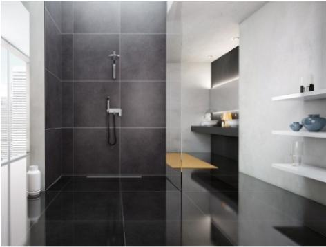 Glass profile i profili in acciaio profilpas ideati per - Piatti doccia piccoli ...