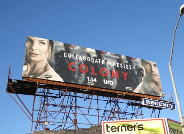 Colony series premiere billboard