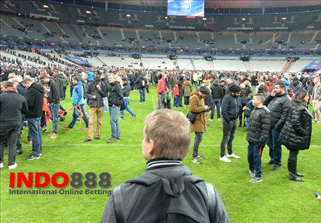 Video Ledakan Bom Saat Pertandingan Prancis vs Jerman - Indo888News