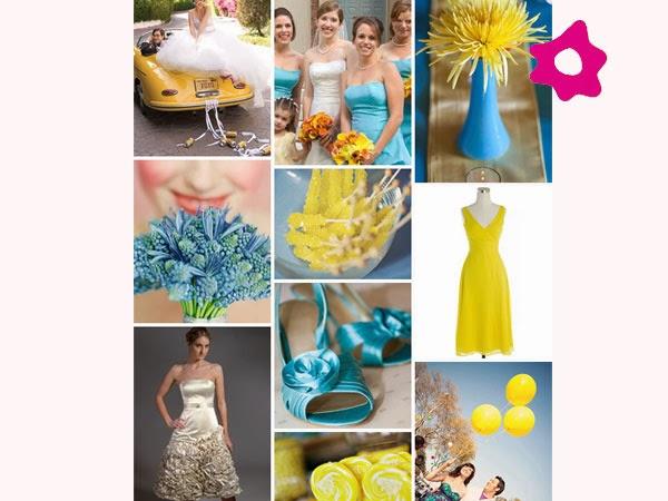 decoracao de igreja para casamento azul e amarelo : decoracao de igreja para casamento azul e amarelo:Amarelo e rosa: use tons pastéis e terá uma decoração de casamento