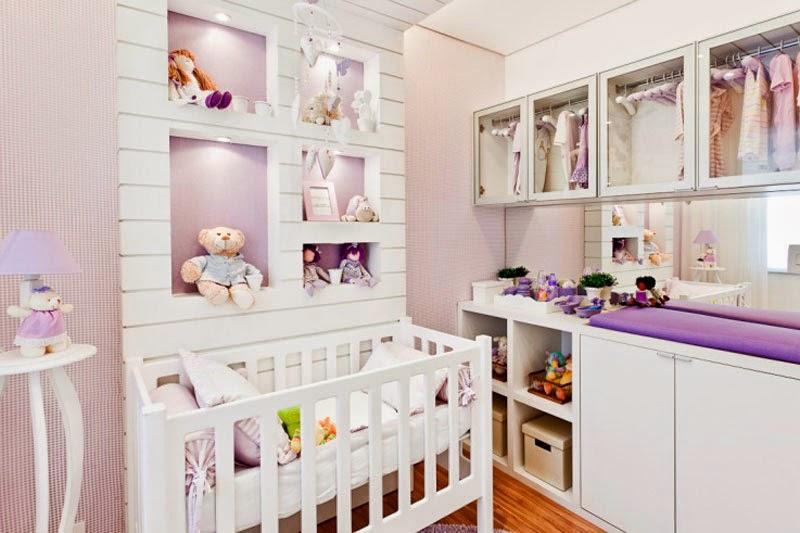 Cuarto para beb en color lila dormitorios colores y estilos for Opciones para decorar mi cuarto