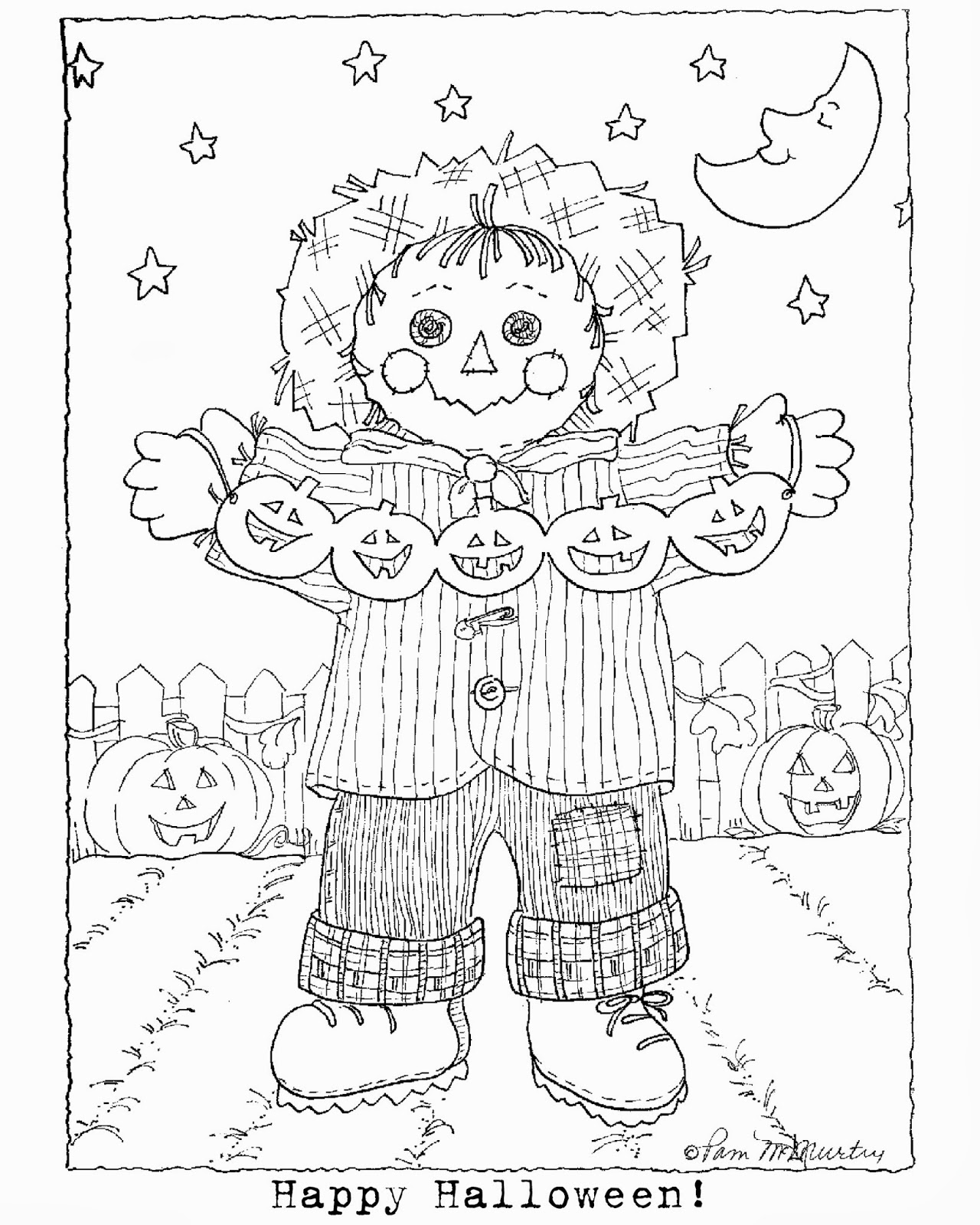 32 Free Coloring Pages To Download HAPPY HALLOWEEN