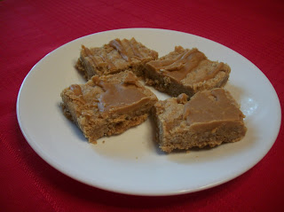 Oatmeal Butterscotch Bars from Elena Cooking