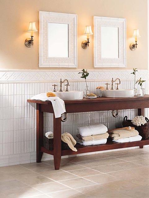 Ideas Para Decorar Baños Con Azulejos:Bathroom Decorating Ideas with Tile