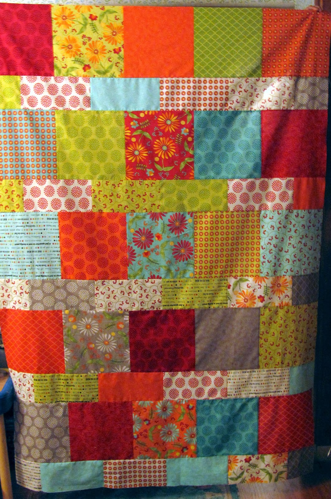 Quilting In Carmichael Fqs Layer Cake Lemonade Quilt And