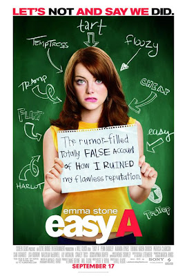Watch Easy A 2010 BRRip Hollywood Movie Online | Easy A 2010 Hollywood Movie Poster