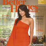 Sameera reddy on Better Homes magazine Coverpage