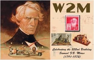 W2M, Samuel F.B. Morse Day