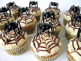 Best Halloween Spider Cupcakes