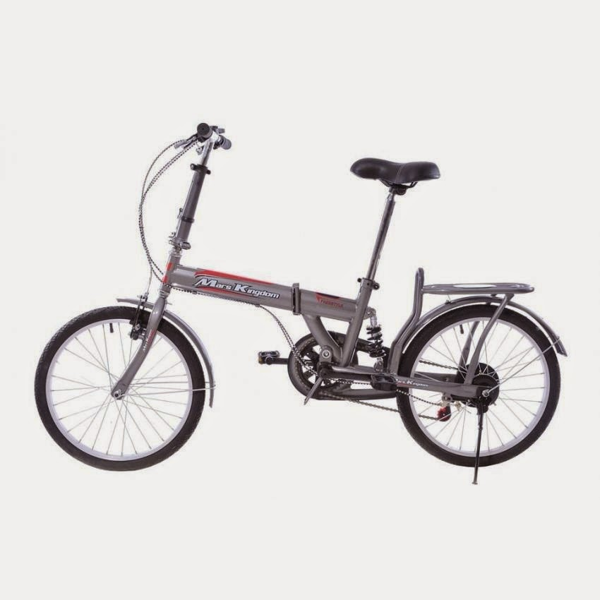 Mars Kingdom Freestyle Folding Bike