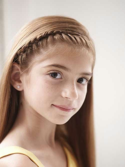 Girl Hairstyle : Cute braided hairstyles for girls