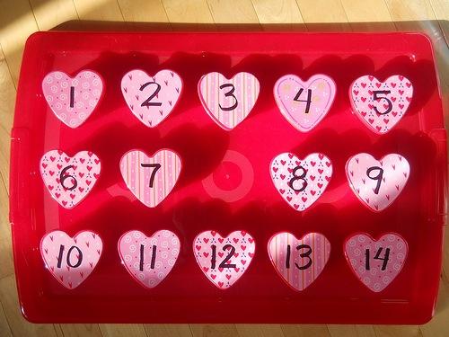 Le d compte de la st valentin est commenc maman bricolage - Pinterest st valentin bricolage ...