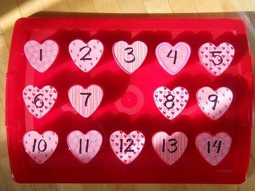 Le d compte de la st valentin est commenc maman bricolage - Pinterest bricolage st valentin ...