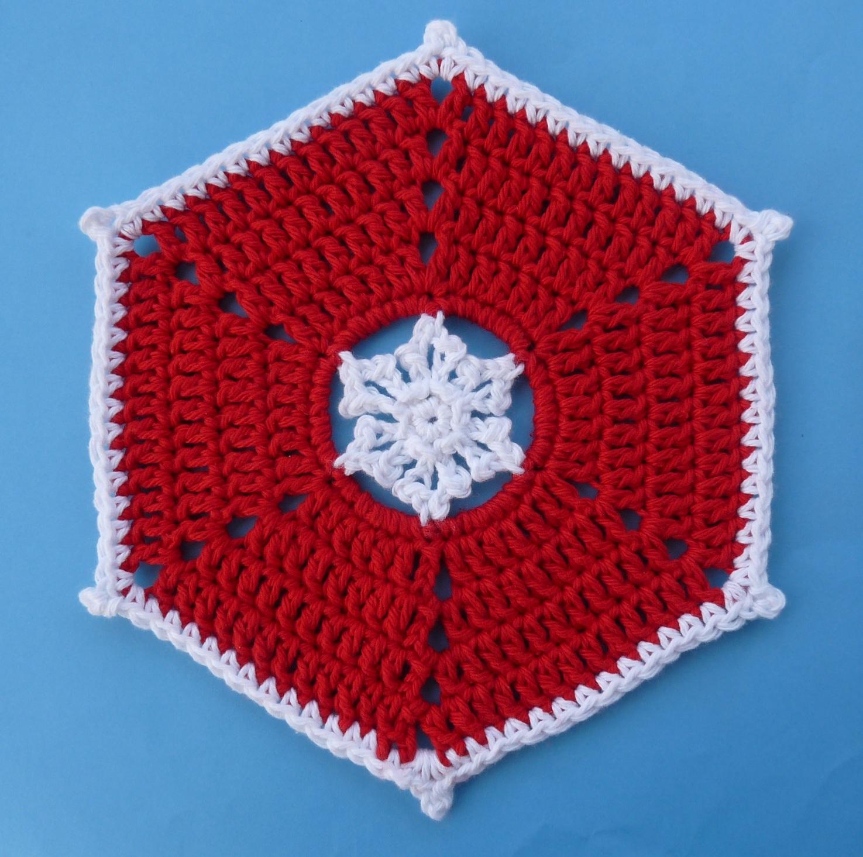 Knitting Pattern Snowflake Dishcloth : Whiskers & Wool: Snowflake Dishcloth - Free Pattern