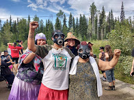 Secwepemc Blockade Mine in BC on Anniversary of Toxic Spill