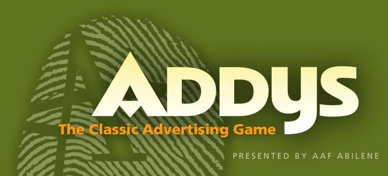 AAF Abilene ADDY's 2012
