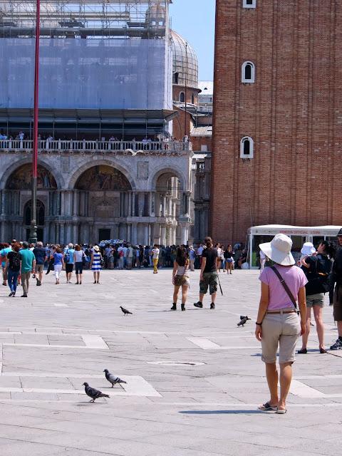 St Mark's square campanile