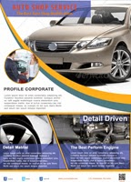 Auto Shop  Flyer Templates