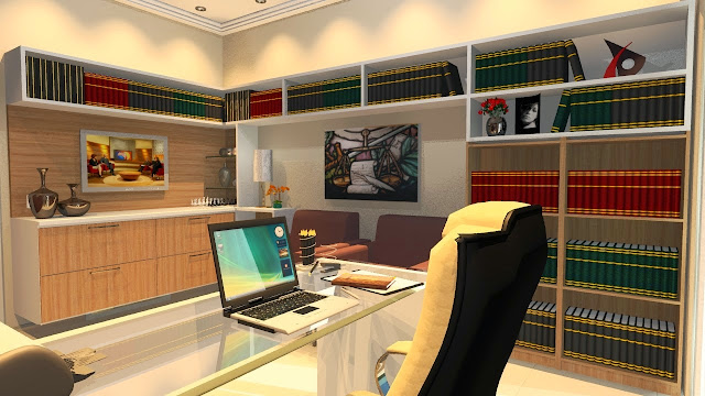 Gabinete e Home Office Planejado