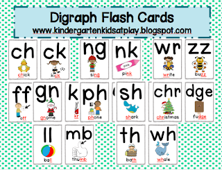 blends and digraphs chart pdf