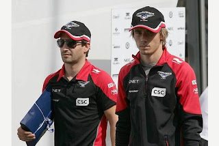 Timo Glock Charles Pic Marussia F1