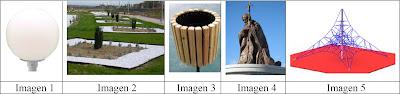 Preguntas ghymkana matemática: globo, papelera, jardines, pirámide, etc.