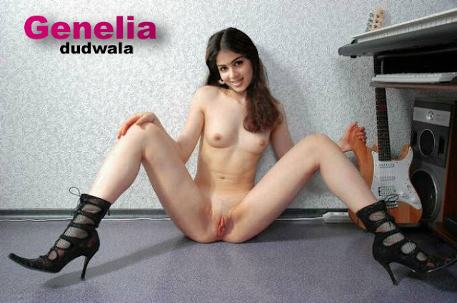 Souza Nude Showing Milky Boobs And Pussy In Room Genelia