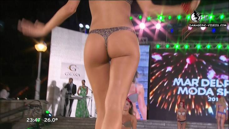 Argentina Model María Paz Delgado perfecta ass in thong HD video