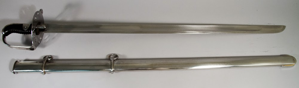British Heavy Cavalry Sword - 1796 Pattern Windlasssword