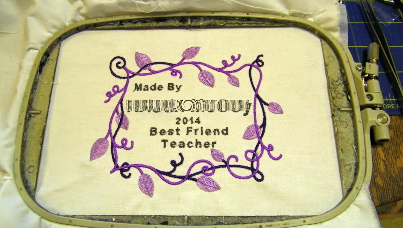 I Just Love The Idea Of Creating A Label To Match The Quilt And To Document
