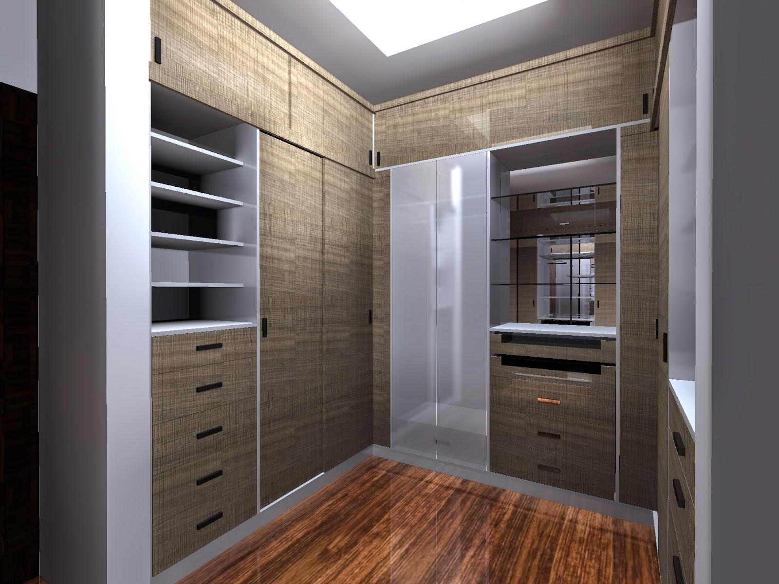 muebles diseños y proyectos CLOSET Y WALK IN CLOSET FABRICADO EN