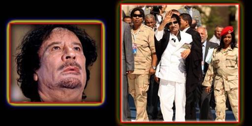 Gaddafi talisman Represent Virgin?