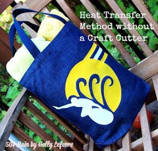 Heat Transfer method without a craft cutter