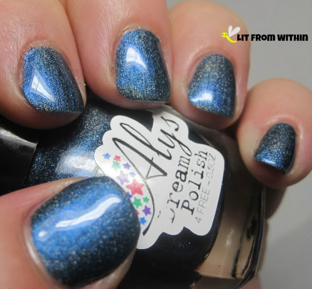 Aly's Dream Polish in Navy