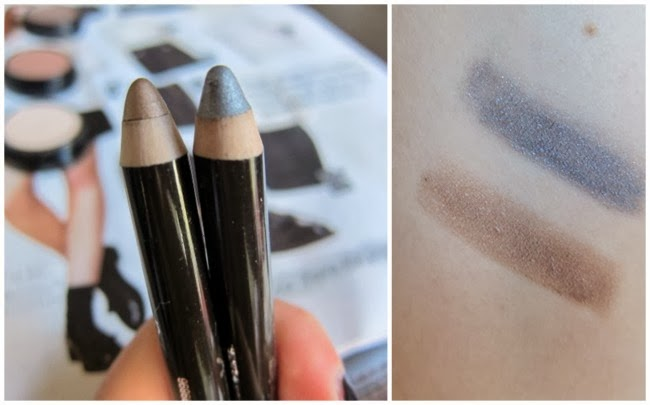 Swatches Max Factor Shadow Stick Caramel Rage Savage Silver