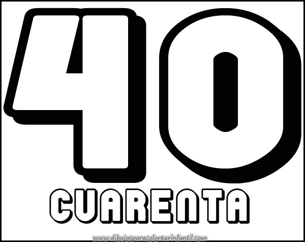 Numeros de 1 al 30 para imprimir - Imagui