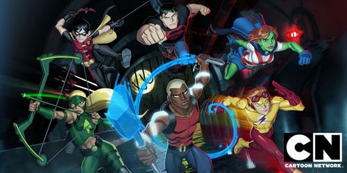 justica jovem novo cartoon network invasao anime Justiça Jovem dublado   Episódio 1
