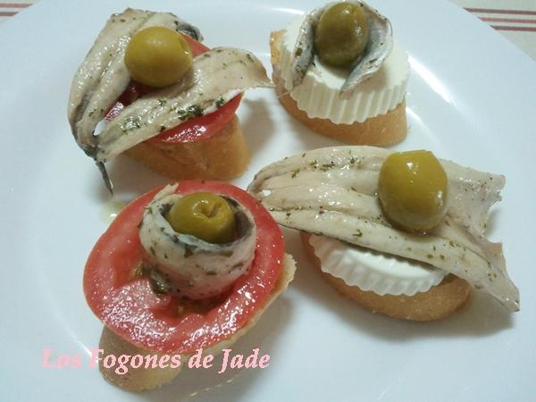 Boquerones en vinagre los fogones de jade - Calorias boquerones en vinagre ...