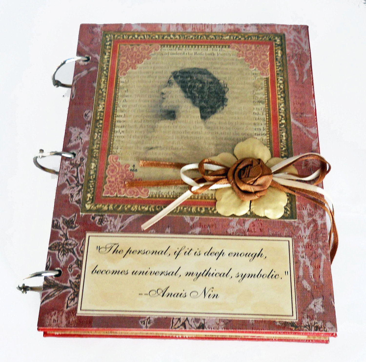 Ophelia S Adornments Blog May 2012: Ophelia's Adornments Blog: Mixed Media Journals