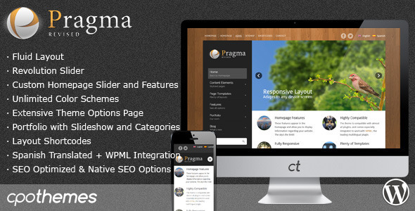 ThemeForest - Pragma – Fluid Business & Portfolio Theme