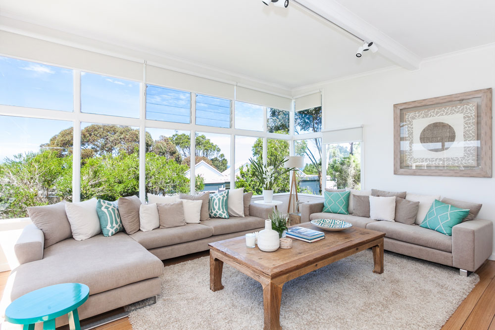 Coastal style my beach house a room with a view for Australian home interior designs