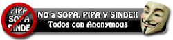 No SOPA NO PIPA NO SINDE
