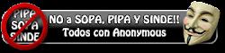No SOPA NO PIPA NO SINDE
