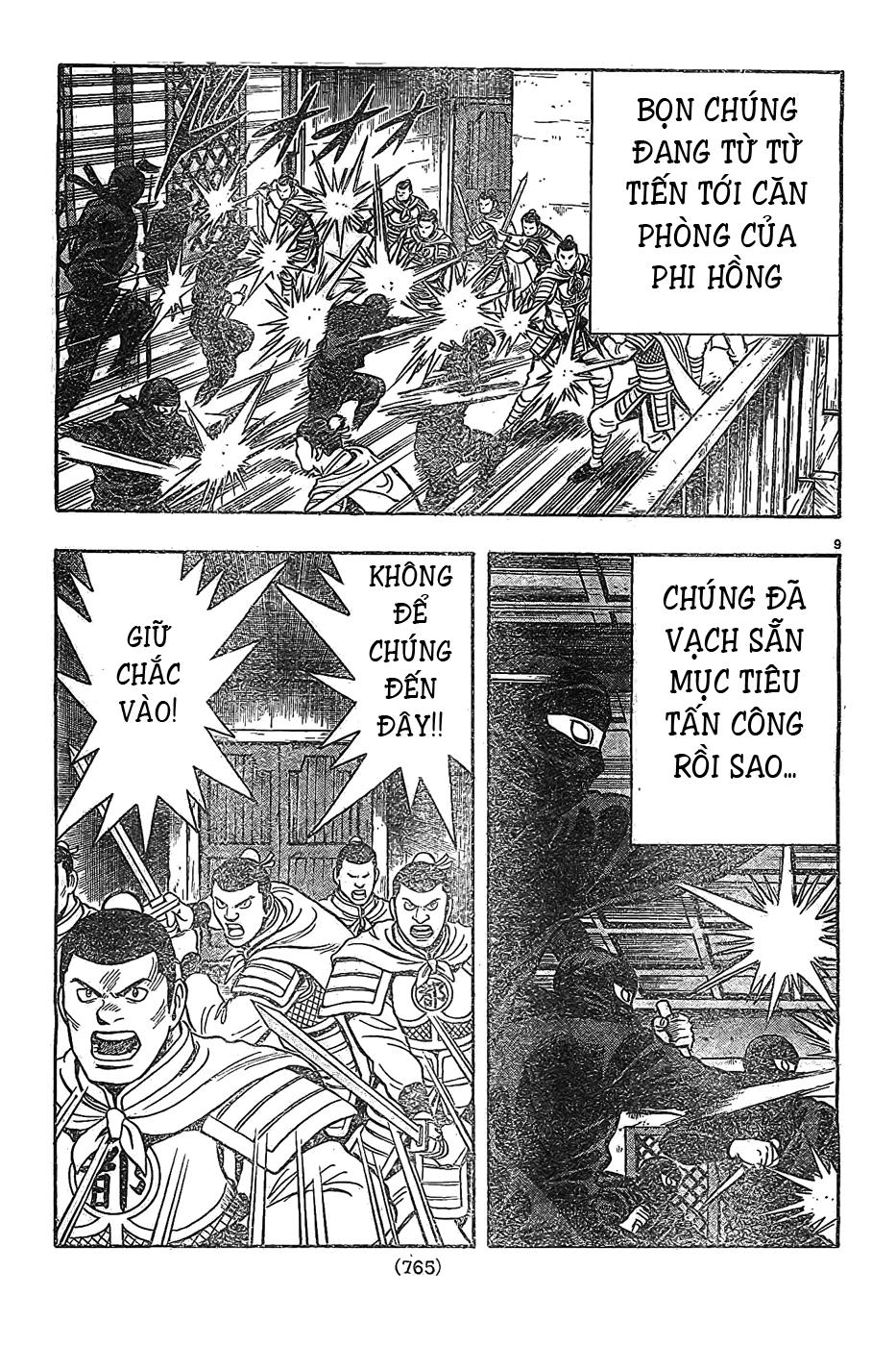 Hoàng Phi Hồng Phần 4 chap 81 Trang 10