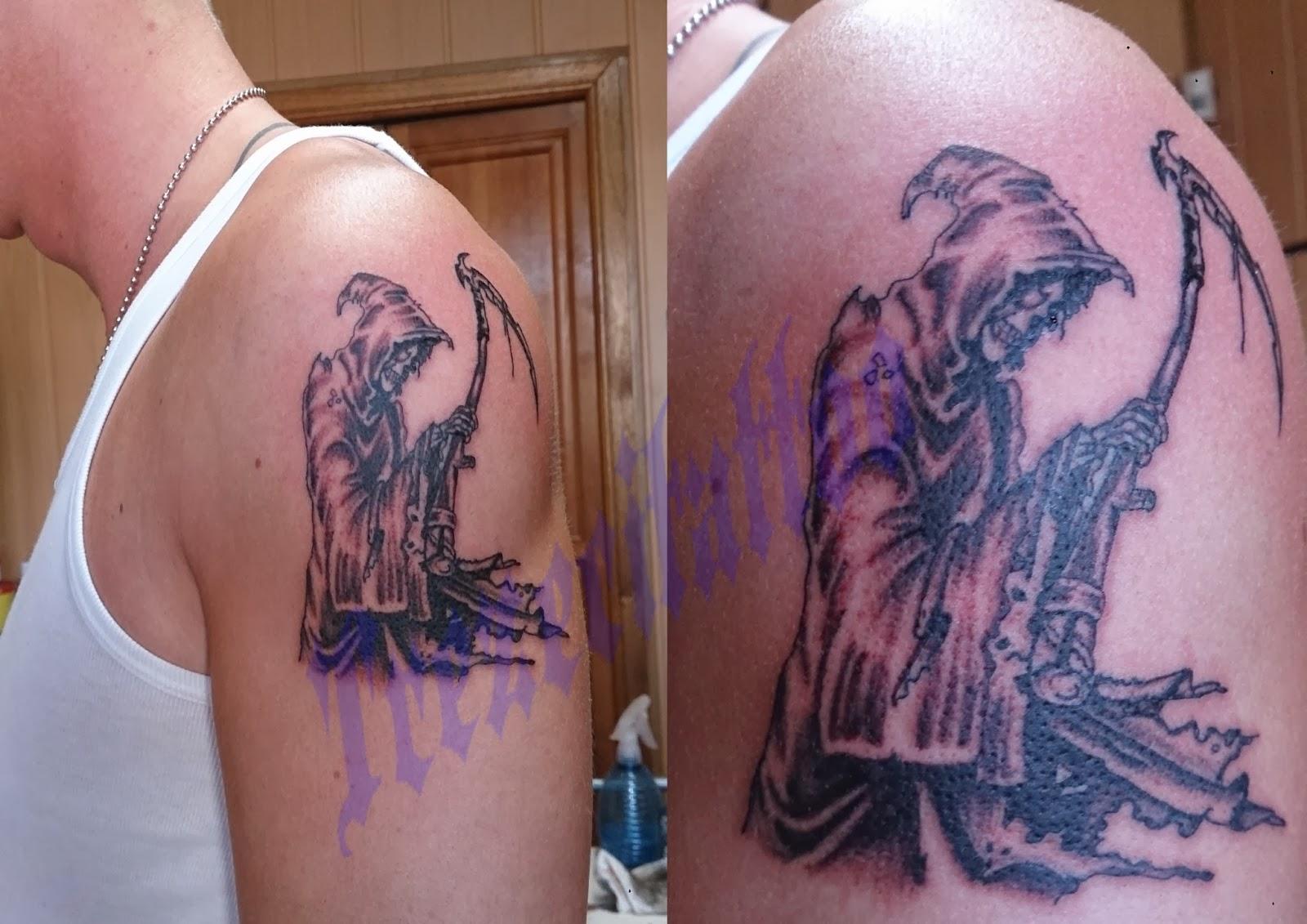 Catégorie Tatouage faucheuse Modele tatouage - modele tatouage faucheuse